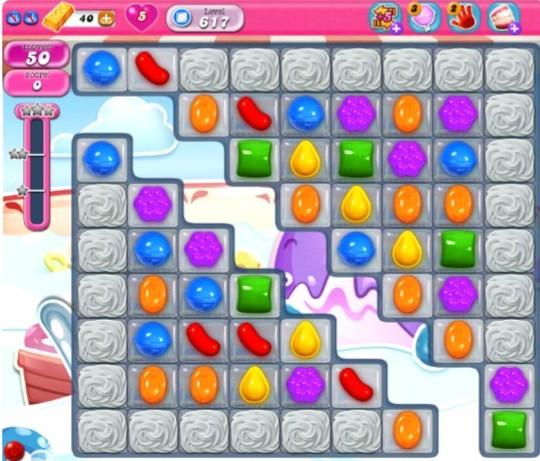 Candy Crush Screen Shot
