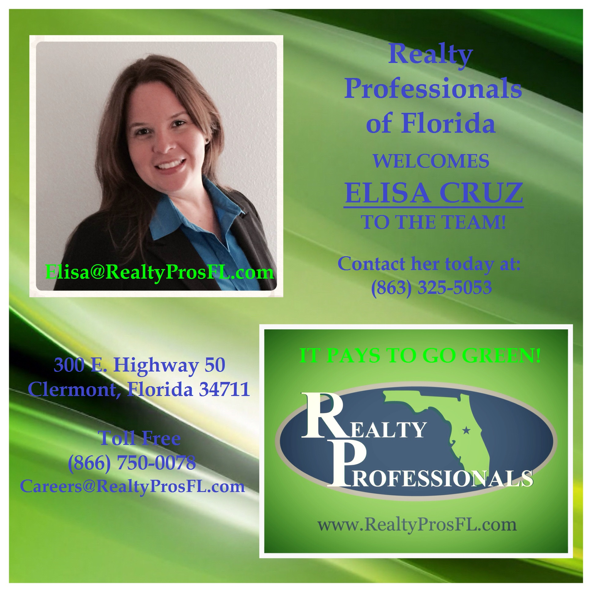 Agents! Agents! Realty Professionals is Growing!