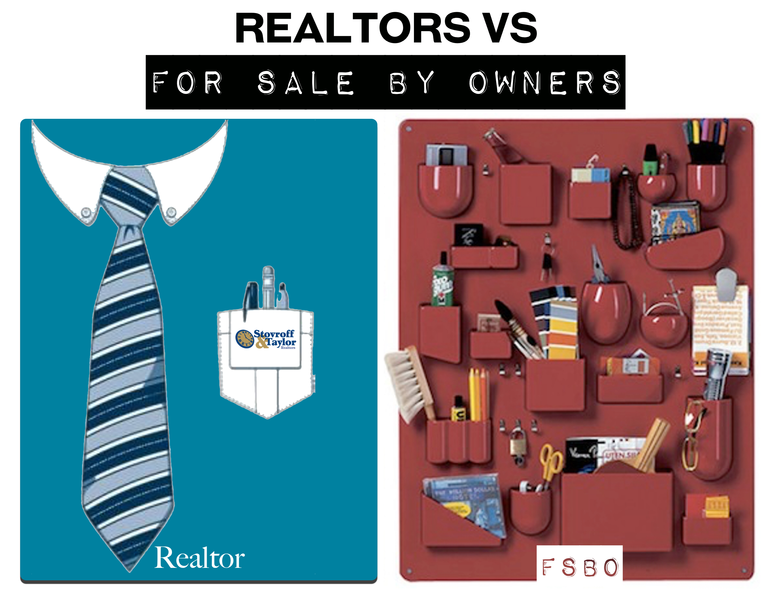 Why NOT to FSBO?  Work with a Realtor.