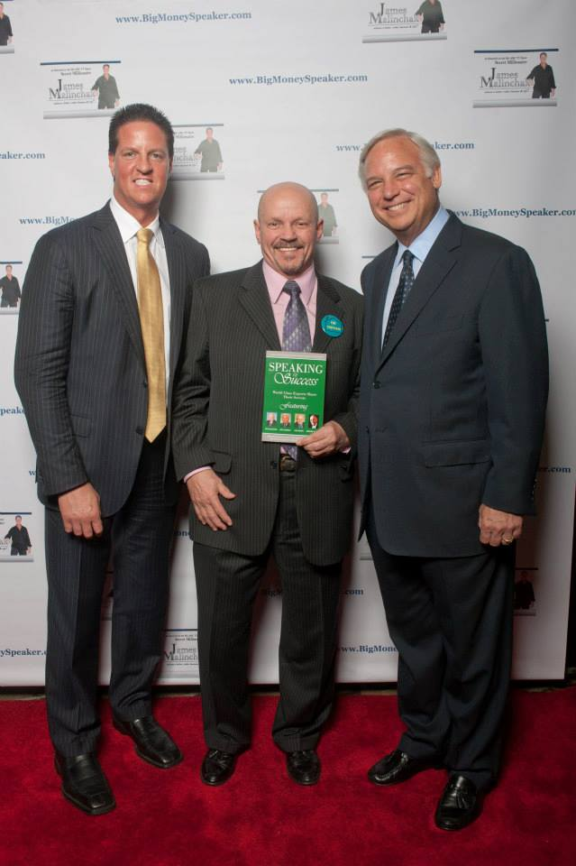 Alex with Jack Canfield and James Malinchak