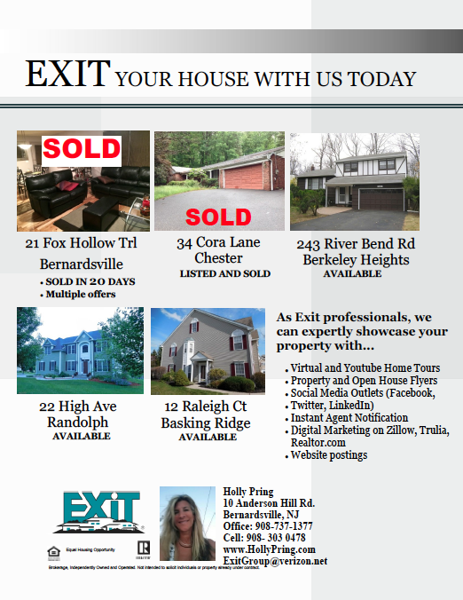 Come EXIT your house with EXIT Realty Group!