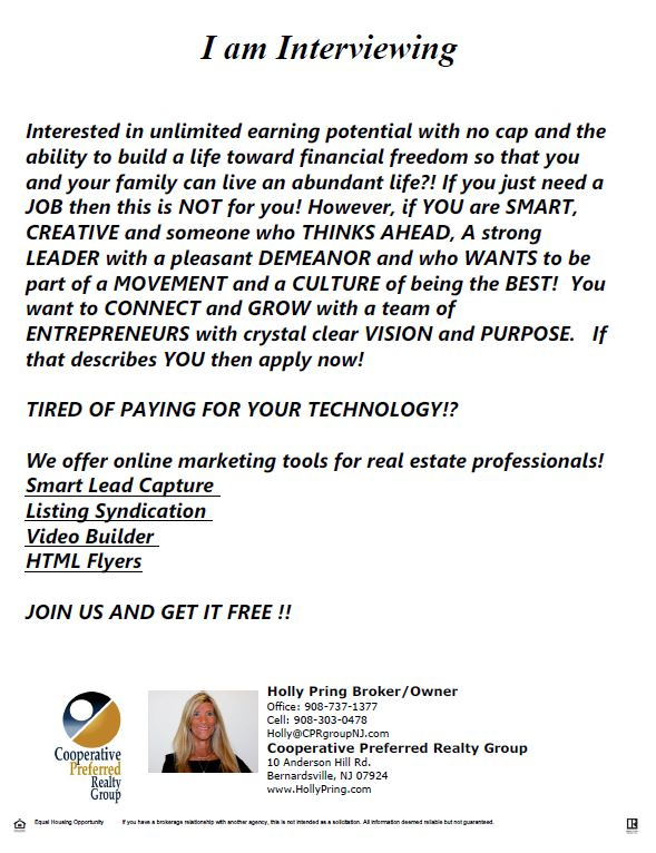 Think of Joining a Great Real Estate Company??